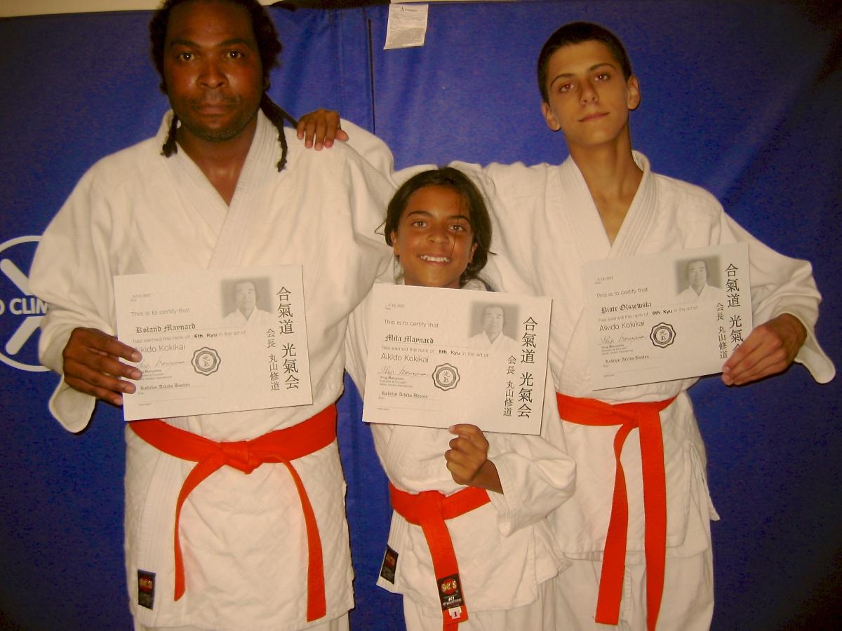 Orange Belts!